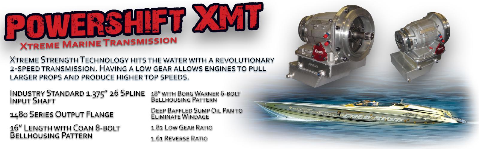 Xtreme Marine Transmission