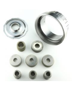 "COA-12787-169 - ""MAXIMUM DUTY"" STRAIGHT CUT PLANETARY GEARS ONLY, COMPLETE SET W/ RING GEAR AND REACTION FLANGE  1.69 RATIO"