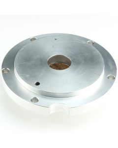 "COA-12790 - SHORTY ALUMINUM PLATE W/BUSHING (FEATURES A SNAP RING TO ELIMINATE SEAL ""WALK-OUT"")"