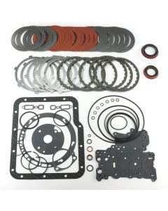 "COA-12107E-R - ""BIG DOG"" OVERHAUL KIT FOR COA-11124-180, 11147-180 TRANSMISSIONS (INCLUDES: 10 DIRECT (RED EAGLE)/6 REV CLUTCHES, STEELS, GASKETS &  RIN..."