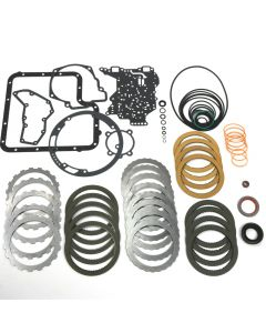 COA-62107 - MASTER OVERHAUL KIT '67-'76 (INCLUDES: CLUTCHES, STEELS, GASKETS & RINGS-NO BANDS OR FILTER)