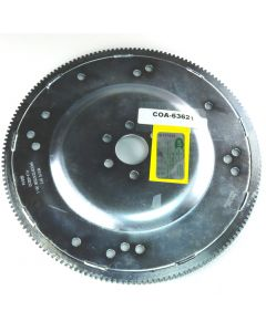 COA-63621 - SFI APPROVED FLEXPLATE, SB, NO WT, 164T, GM 10 3/4 BC AND C-4 11 7/16 BC