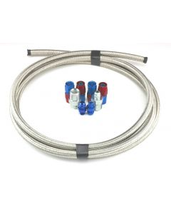 COA-980322 - COOLER INSTALLATION KIT 1/4 PIPE THREAD (10 FT. OF -06 BRAIDED HOSE & ALL NECESSARY AN FITTINGS)