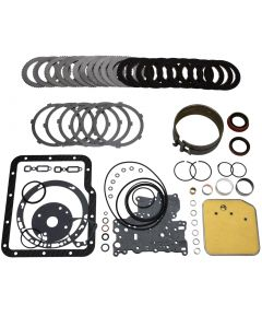 "COA-12101 - ""XST"" DELUXE OVERHAUL KIT (INCLUDES: 10 DIRECT (BLUE)/6 REV CLUTCHES, STEELS, GASKETS, BUSHINGS, BAND AND FILTER)"
