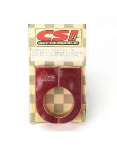 CSI AIR BOTTLE BRACKET (ANODIZED ALUMINUM, RED) (NEW)