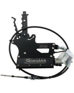M12-4003SNBLK - 3 Speed Safe Neutral with Air. Black. Includes 5'Cable, Pan Bracket and Lever. Specify TH350 or TH400
